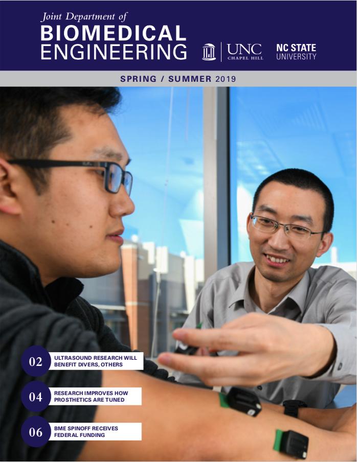 Joint BME Newsletter Spring : Summer 2019 cover